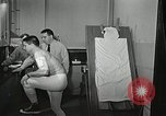 Image of heart beat test Ohio United States USA, 1959, second 54 stock footage video 65675023392