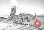 Image of Preparing Redstone Missile for launch New Mexico United States USA, 1960, second 10 stock footage video 65675023465