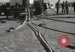 Image of Preparing Redstone Missile for launch New Mexico United States USA, 1960, second 23 stock footage video 65675023465