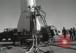 Image of Preparing Redstone Missile for launch New Mexico United States USA, 1960, second 26 stock footage video 65675023465