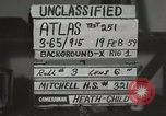 Image of Atlas Missile 5C Cape Canaveral Florida USA, 1959, second 1 stock footage video 65675023475