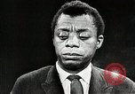Image of James Baldwin speaks about Civil rights movement United States USA, 1963, second 36 stock footage video 65675024057