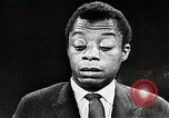 Image of James Baldwin speaks about Civil rights movement United States USA, 1963, second 38 stock footage video 65675024057
