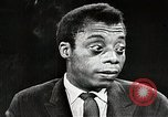 Image of James Baldwin speaks about Civil rights movement United States USA, 1963, second 54 stock footage video 65675024057