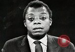 Image of James Baldwin speaks about Civil rights movement United States USA, 1963, second 56 stock footage video 65675024057