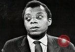 Image of James Baldwin speaks about Civil rights movement United States USA, 1963, second 57 stock footage video 65675024057