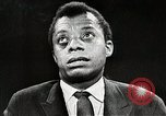 Image of James Baldwin speaks about Civil rights movement United States USA, 1963, second 58 stock footage video 65675024057
