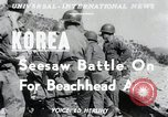 Image of Pusan Perimeter in Korean War Korea, 1950, second 1 stock footage video 65675024694