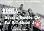 Image of Pusan Perimeter in Korean War Korea, 1950, second 4 stock footage video 65675024694