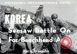 Image of Pusan Perimeter in Korean War Korea, 1950, second 6 stock footage video 65675024694