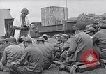 Image of Rabbi Chaplain Leon Rosenberg conducts Jewish services on Iwo Jima during World War 2 Iwo Jima, 1945, second 24 stock footage video 65675026284