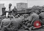 Image of Rabbi Chaplain Leon Rosenberg conducts Jewish services on Iwo Jima during World War 2 Iwo Jima, 1945, second 27 stock footage video 65675026284