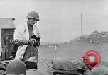 Image of Rabbi Chaplain Leon Rosenberg conducts Jewish services on Iwo Jima during World War 2 Iwo Jima, 1945, second 41 stock footage video 65675026284