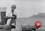 Image of Rabbi Chaplain Leon Rosenberg conducts Jewish services on Iwo Jima during World War 2 Iwo Jima, 1945, second 42 stock footage video 65675026284