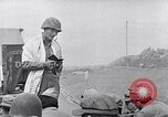 Image of Rabbi Chaplain Leon Rosenberg conducts Jewish services on Iwo Jima during World War 2 Iwo Jima, 1945, second 45 stock footage video 65675026284
