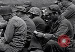 Image of Rabbi Chaplain Leon Rosenberg conducts Jewish services on Iwo Jima during World War 2 Iwo Jima, 1945, second 51 stock footage video 65675026284