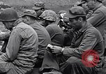 Image of Rabbi Chaplain Leon Rosenberg conducts Jewish services on Iwo Jima during World War 2 Iwo Jima, 1945, second 52 stock footage video 65675026284