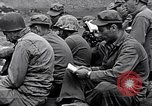 Image of Rabbi Chaplain Leon Rosenberg conducts Jewish services on Iwo Jima during World War 2 Iwo Jima, 1945, second 55 stock footage video 65675026284