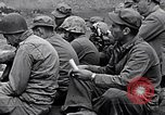 Image of Rabbi Chaplain Leon Rosenberg conducts Jewish services on Iwo Jima during World War 2 Iwo Jima, 1945, second 57 stock footage video 65675026284