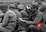 Image of Rabbi Chaplain Leon Rosenberg conducts Jewish services on Iwo Jima during World War 2 Iwo Jima, 1945, second 60 stock footage video 65675026284