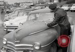 Image of pock marks on windshields Seattle Washington USA, 1954, second 13 stock footage video 65675026993