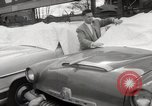 Image of pock marks on windshields Seattle Washington USA, 1954, second 23 stock footage video 65675026993