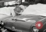 Image of pock marks on windshields Seattle Washington USA, 1954, second 24 stock footage video 65675026993