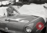 Image of pock marks on windshields Seattle Washington USA, 1954, second 25 stock footage video 65675026993