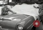 Image of pock marks on windshields Seattle Washington USA, 1954, second 26 stock footage video 65675026993
