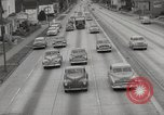 Image of pock marks on windshields Seattle Washington USA, 1954, second 44 stock footage video 65675026993