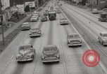 Image of pock marks on windshields Seattle Washington USA, 1954, second 45 stock footage video 65675026993