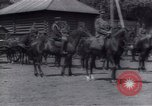 Image of White Russian troops commanded  by Admiral Kolchak Siberia Russia, 1919, second 39 stock footage video 65675027127