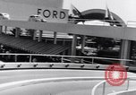 Image of ford moving mural Flushing Meadows New York USA, 1940, second 39 stock footage video 65675028519