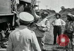 Image of Mexican Federal Army troops departing Mexico City along railroad Mexico City Mexico, 1914, second 10 stock footage video 65675029259