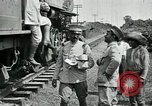 Image of Mexican Federal Army troops departing Mexico City along railroad Mexico City Mexico, 1914, second 13 stock footage video 65675029259