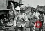 Image of Mexican Federal Army troops departing Mexico City along railroad Mexico City Mexico, 1914, second 14 stock footage video 65675029259
