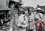 Image of Mexican Federal Army troops departing Mexico City along railroad Mexico City Mexico, 1914, second 15 stock footage video 65675029259