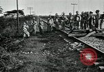 Image of Mexican Federal Army troops departing Mexico City along railroad Mexico City Mexico, 1914, second 19 stock footage video 65675029259