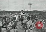 Image of Mexican Federal Army troops departing Mexico City along railroad Mexico City Mexico, 1914, second 21 stock footage video 65675029259