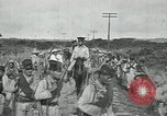 Image of Mexican Federal Army troops departing Mexico City along railroad Mexico City Mexico, 1914, second 22 stock footage video 65675029259