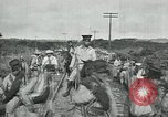 Image of Mexican Federal Army troops departing Mexico City along railroad Mexico City Mexico, 1914, second 24 stock footage video 65675029259