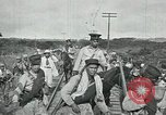 Image of Mexican Federal Army troops departing Mexico City along railroad Mexico City Mexico, 1914, second 25 stock footage video 65675029259