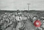 Image of Mexican Federal Army troops departing Mexico City along railroad Mexico City Mexico, 1914, second 26 stock footage video 65675029259