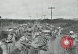 Image of Mexican Federal Army troops departing Mexico City along railroad Mexico City Mexico, 1914, second 32 stock footage video 65675029259