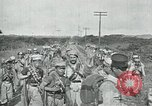 Image of Mexican Federal Army troops departing Mexico City along railroad Mexico City Mexico, 1914, second 33 stock footage video 65675029259