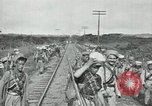 Image of Mexican Federal Army troops departing Mexico City along railroad Mexico City Mexico, 1914, second 35 stock footage video 65675029259