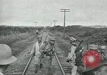 Image of Mexican Federal Army troops departing Mexico City along railroad Mexico City Mexico, 1914, second 38 stock footage video 65675029259