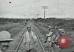 Image of Mexican Federal Army troops departing Mexico City along railroad Mexico City Mexico, 1914, second 39 stock footage video 65675029259