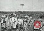 Image of Mexican Federal Army troops departing Mexico City along railroad Mexico City Mexico, 1914, second 42 stock footage video 65675029259
