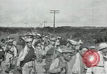 Image of Mexican Federal Army troops departing Mexico City along railroad Mexico City Mexico, 1914, second 44 stock footage video 65675029259